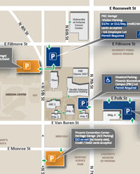 Gccaz Campus Map.Information For Media The University Of Arizona College Of