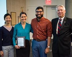 Sondra Schultz, MD, at the Faculty Teaching Awards