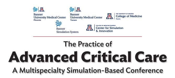 Advanced Critical Care Conference