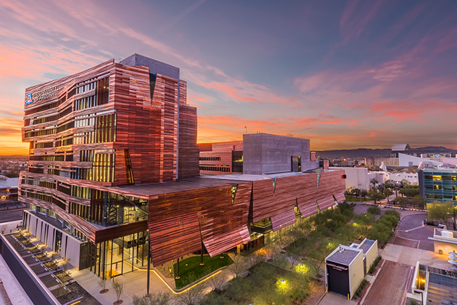 The Biomedical Sciences Partnership Building