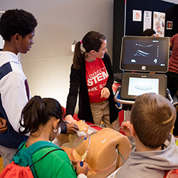 Ultrasounds in the Bioscience Zone