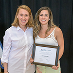 Katie Hawk, MD, with Natasha Keric, MD