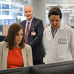 Sen. McSally on Cancer Center tour