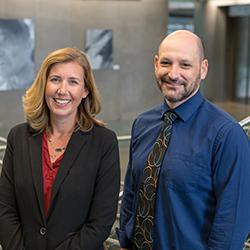 Drs. Jonathan Lifshitz and Katie Brite