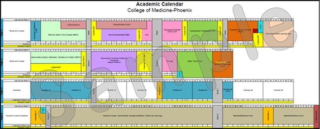 Asu Academic Calendar 2021 Academic Calendar | The University of Arizona College of Medicine