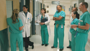 Physicians in hospital