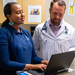 Scribes Gain Early Exposure in Primary Care Setting | The