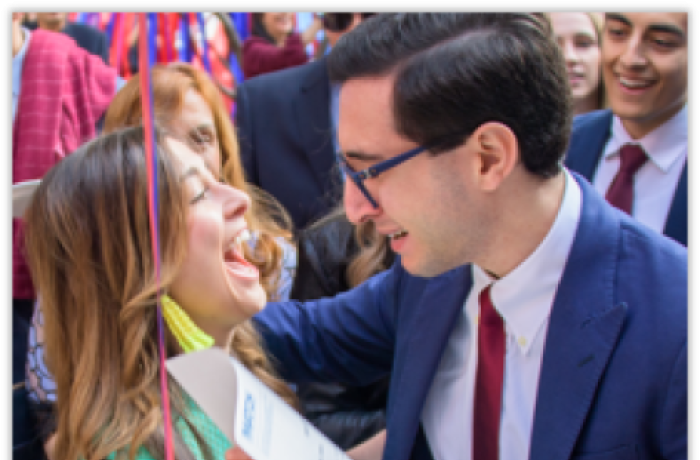 Two Medical Students Celebrate at Match Day 2019