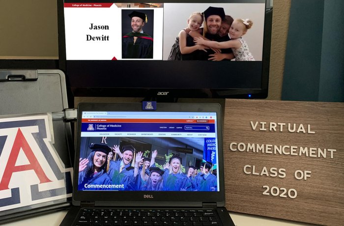 Virtual Commencement Laptop Setup