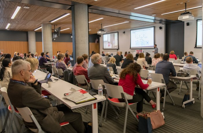 Attendees at a Lecture