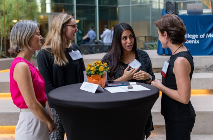 Students, Staff and Faculty Network at the WIMS Fall Event