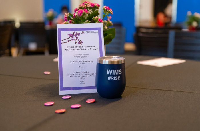 Table Display from the Second Annual WIMS Dinner