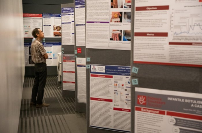 Research Poster Display from Academic Excellence Day in 2019