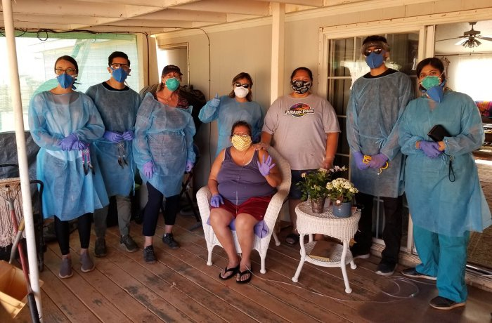 Residents Provided Resources and Supplies to Help the Navajo Nation during the Pandemic