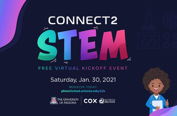 A Promotional Piece for Connect2STEM 2021