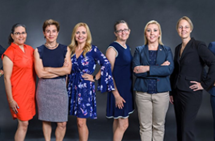 Women in Medicine and Science Group Photo