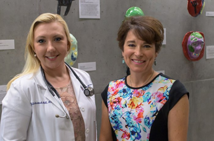Jennifer Hartmark-Hill, MD, and Cynthia Standley, PhD