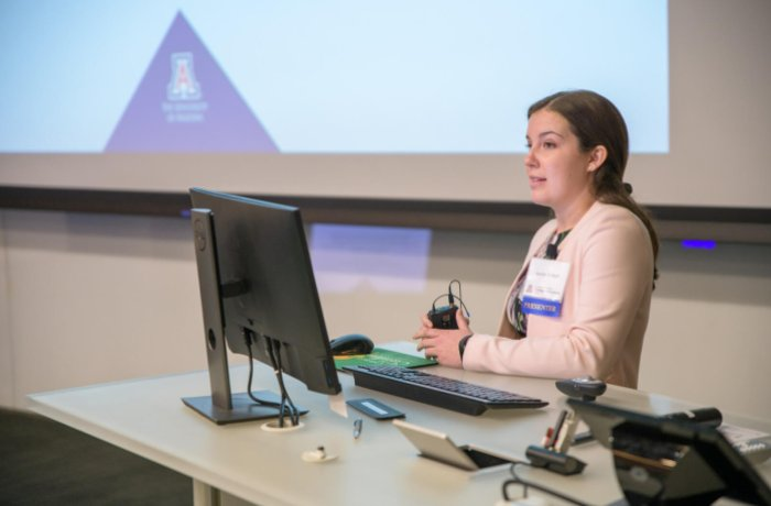 Medical Student Jocelyn Di Nolfi Presents at the Annual Scholarly Project Research Symposium