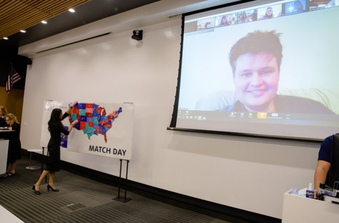 Virtual Match Day at the UA College of Medicine – Phoenix