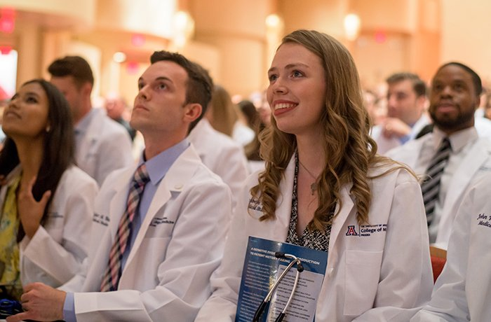 Class of 2022 Medical Students at Their White Coat Ceremony