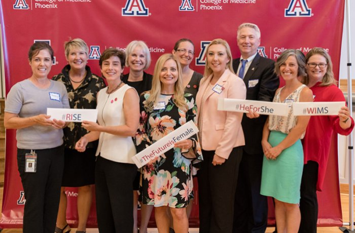 The Women in Medicine and Science Group at the College of Medicine – Phoenix with Dean Reed