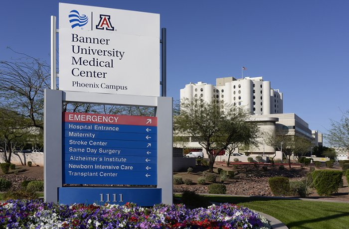 Banner University Medical Center Phoenix The University Of Arizona College Of Medicine Phoenix