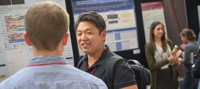 ABRC Research Conference Attendees Discuss Their Research Findings