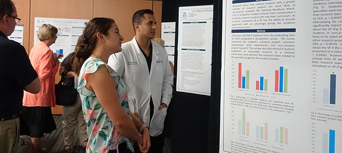 Poster Presentation at 2nd annual Research Office for Medical Education Forum